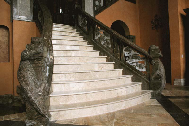 Mẫu cầu thang bằng đá đẹp nhất