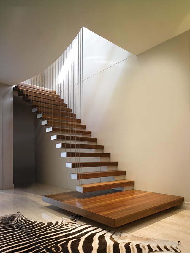 Mẫu cầu thang cao cấp và đẹp