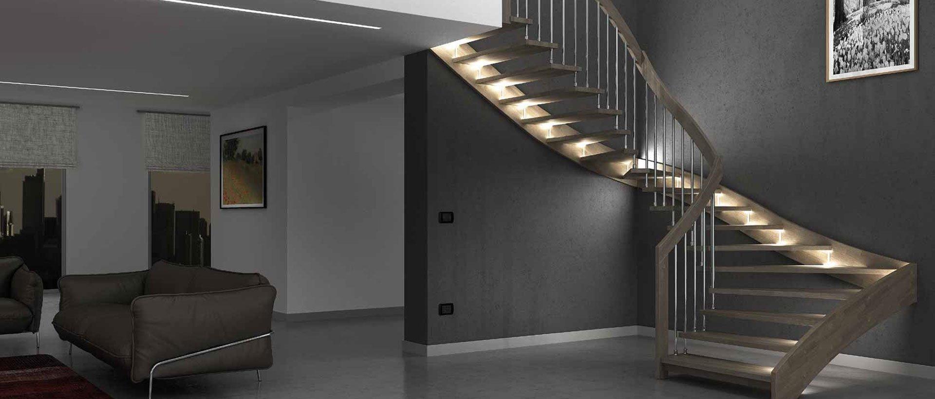 Mẫu cầu thang hiện đại đẹp