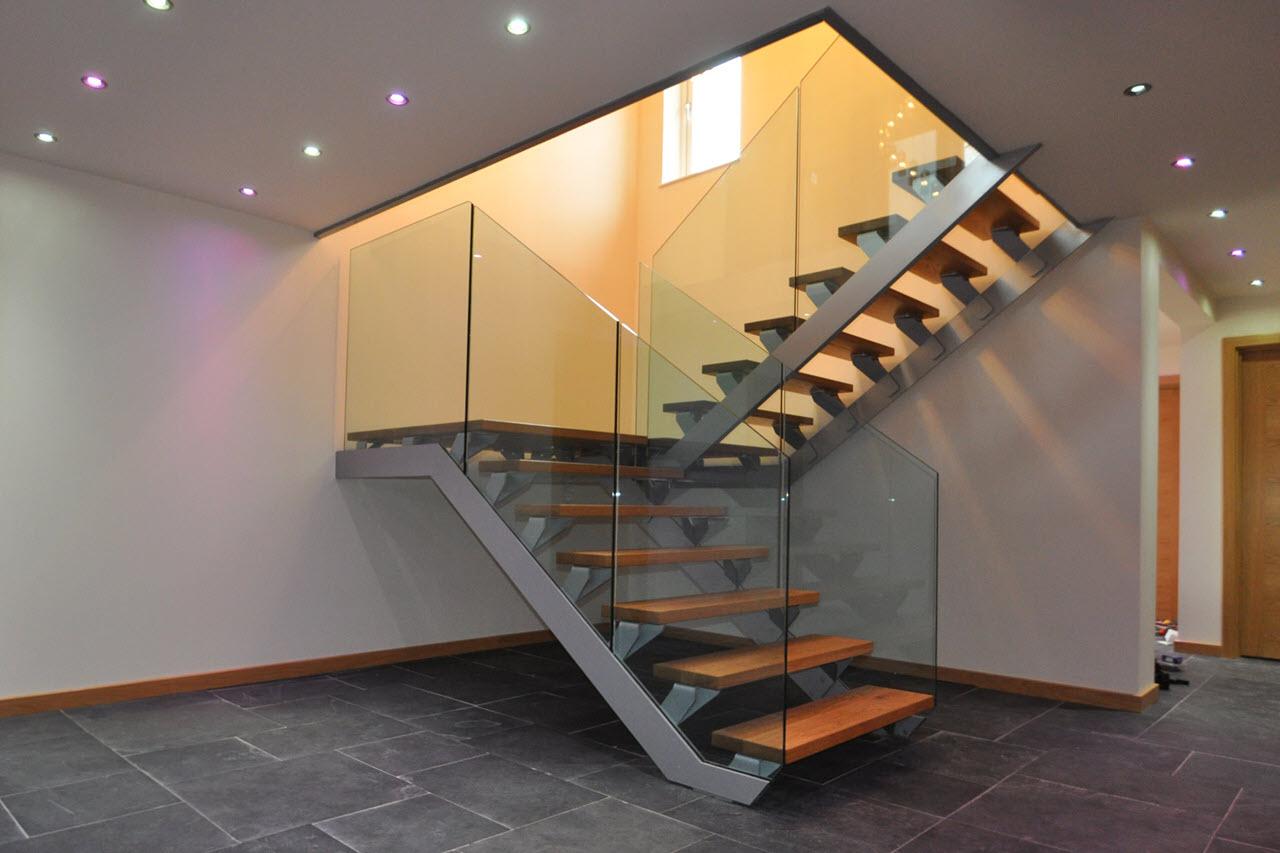 Mẫu cầu thang thiết kế đẹp và đơn giản