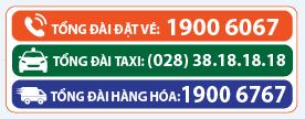 Số tổng đài xe đặt vé xe Phương Trang 1900 6067