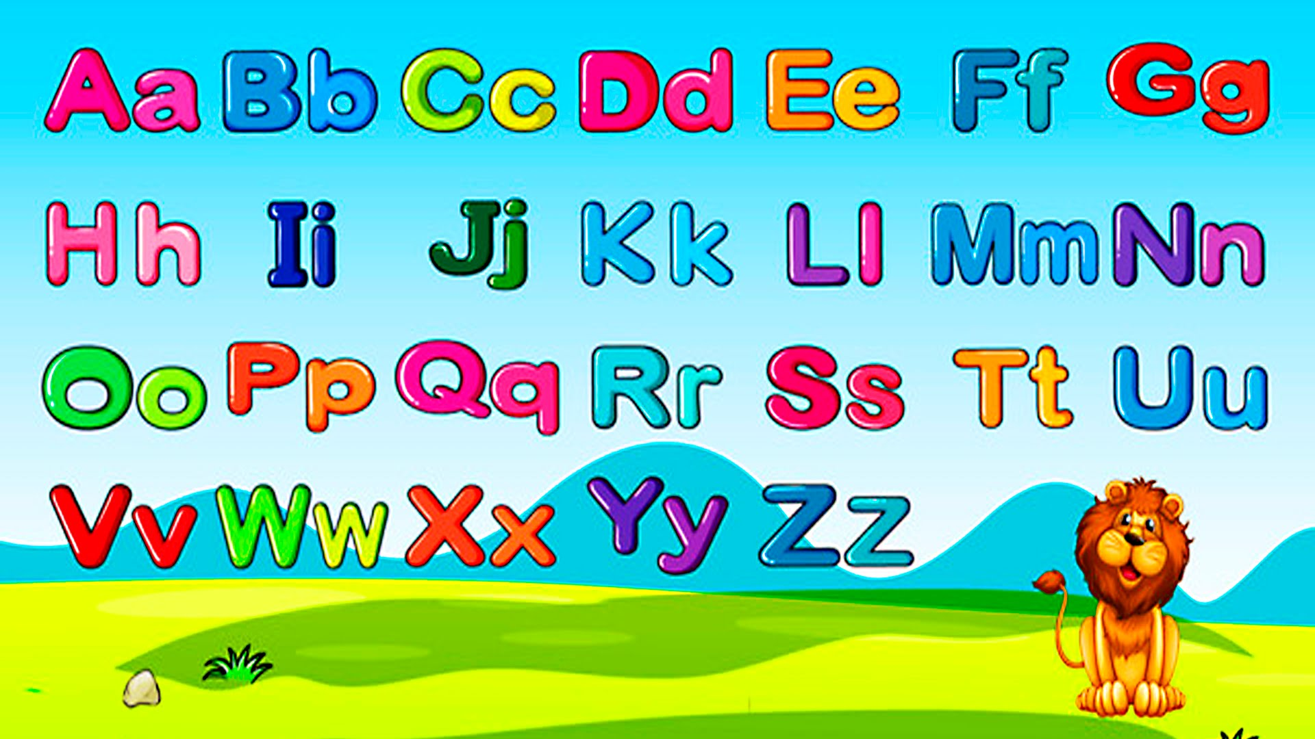 ABC English Alphabet