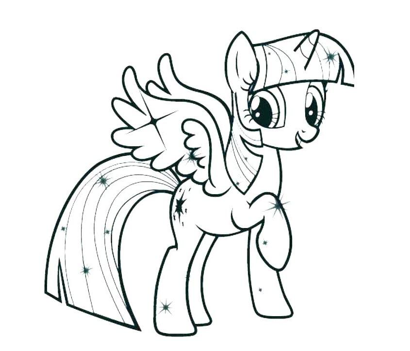 Ảnh tô màu Pony