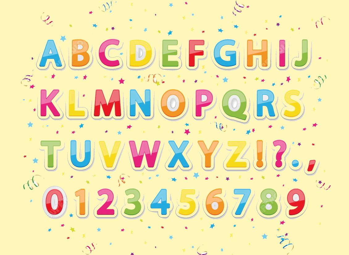Bảng chữ cái tiếng Anh và số