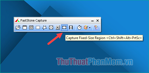 Chế độ chụp Capture Fixed-Size Region