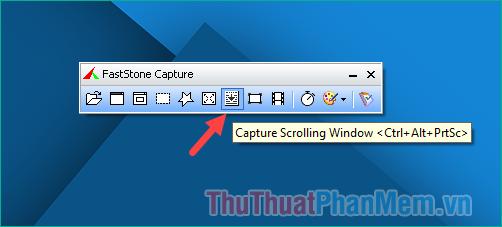Chế độ chụp Capture Scrolling Windows