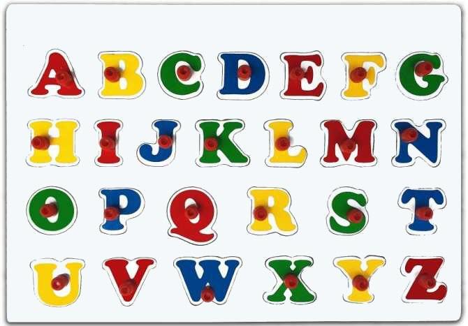 Hình ảnh bảng chữ cái TA