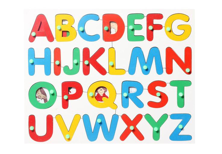 Hình ảnh bảng chữ cái tiếng Anh đẹp