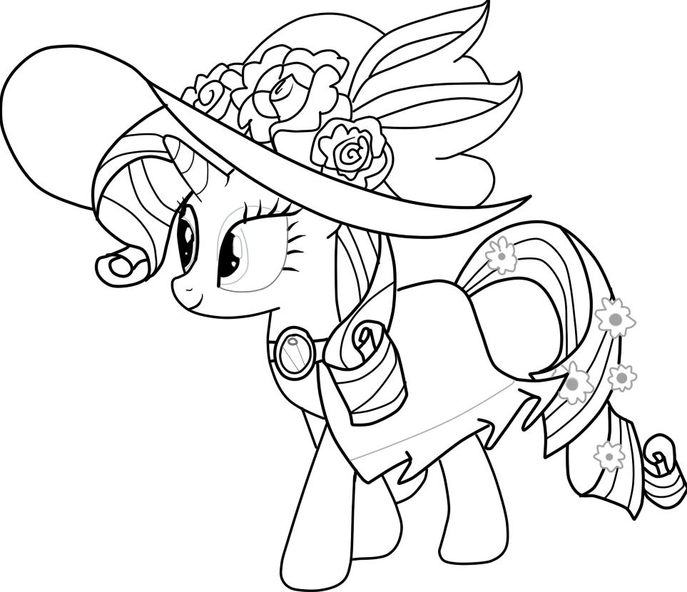 Hình tập tô ngựa Pony