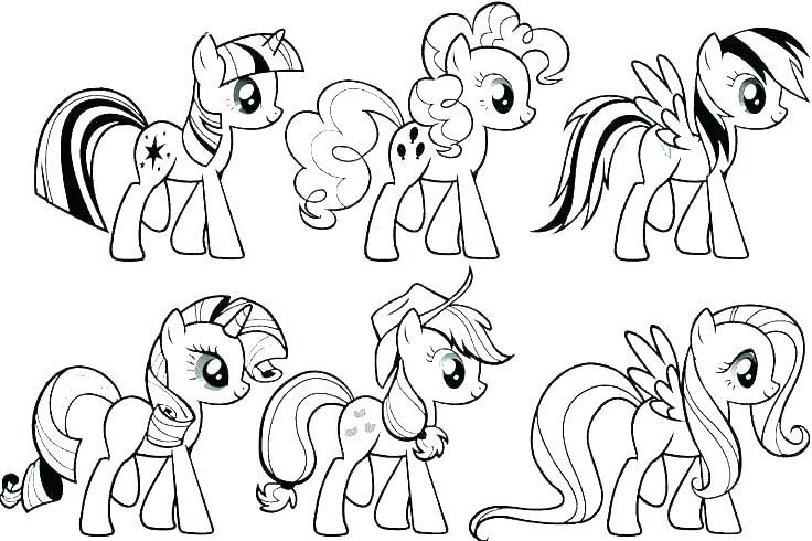 Hình tập tô Pony