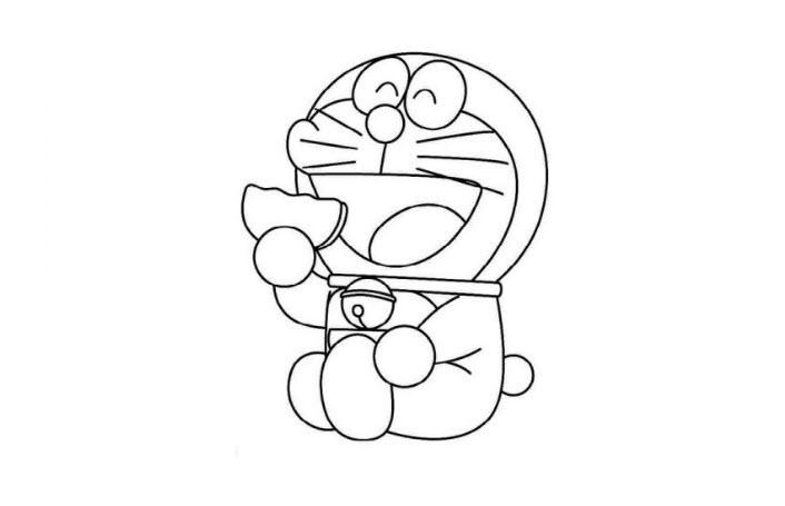 Hình tô màu doremon