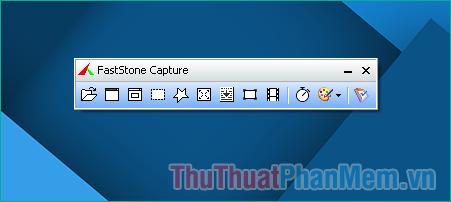 Phần mềm có giao diện vô cùng nhỏ gọn và đơn giản