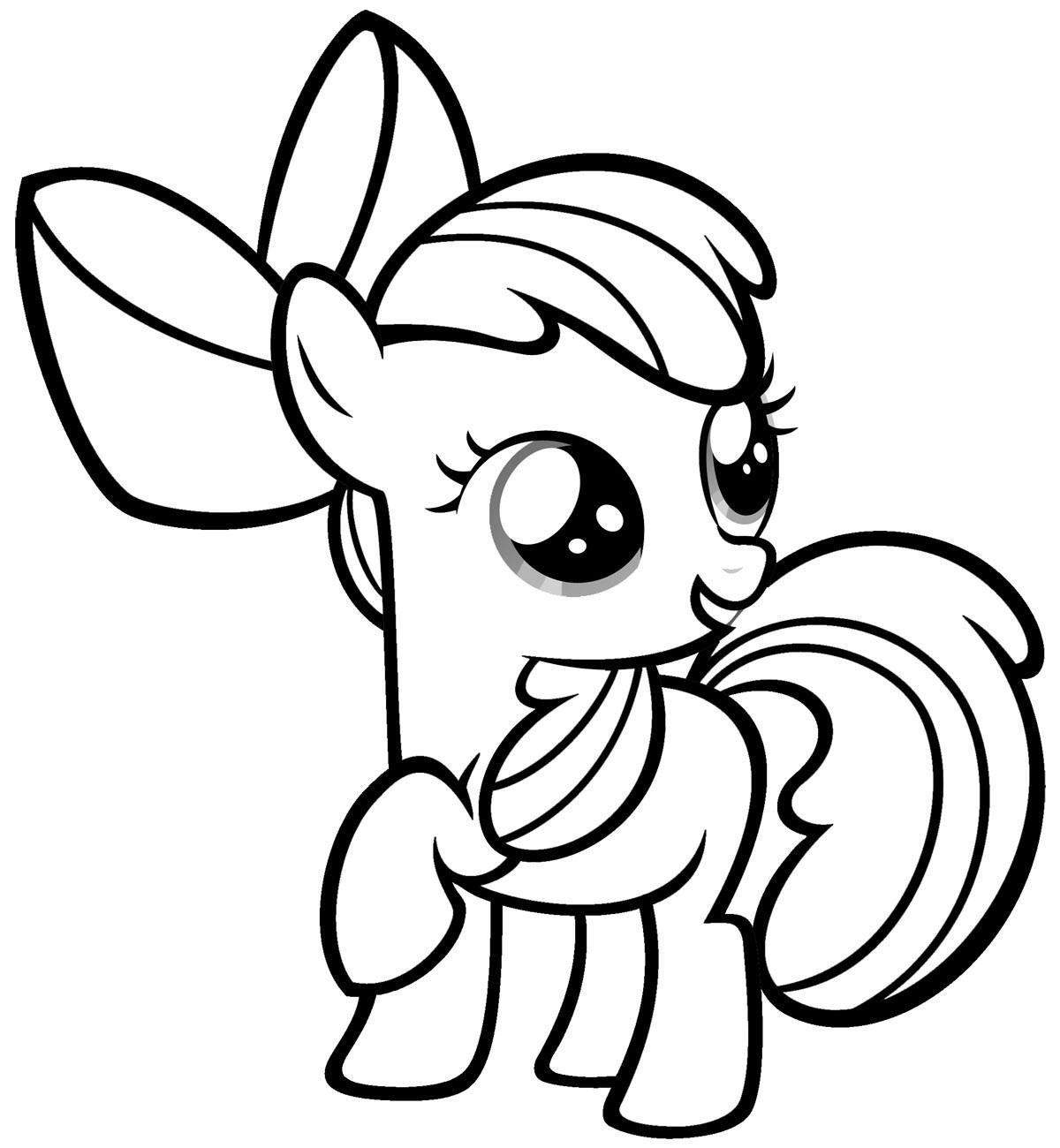 Pony coloring