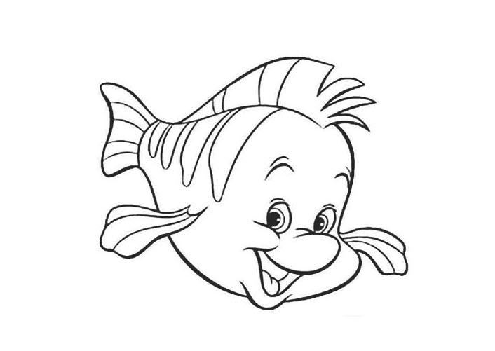 Tô màu con cá