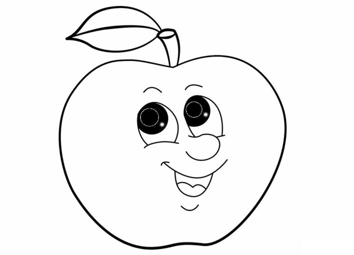 Tranh hoa quả cho bé 3 tuổi tập tô