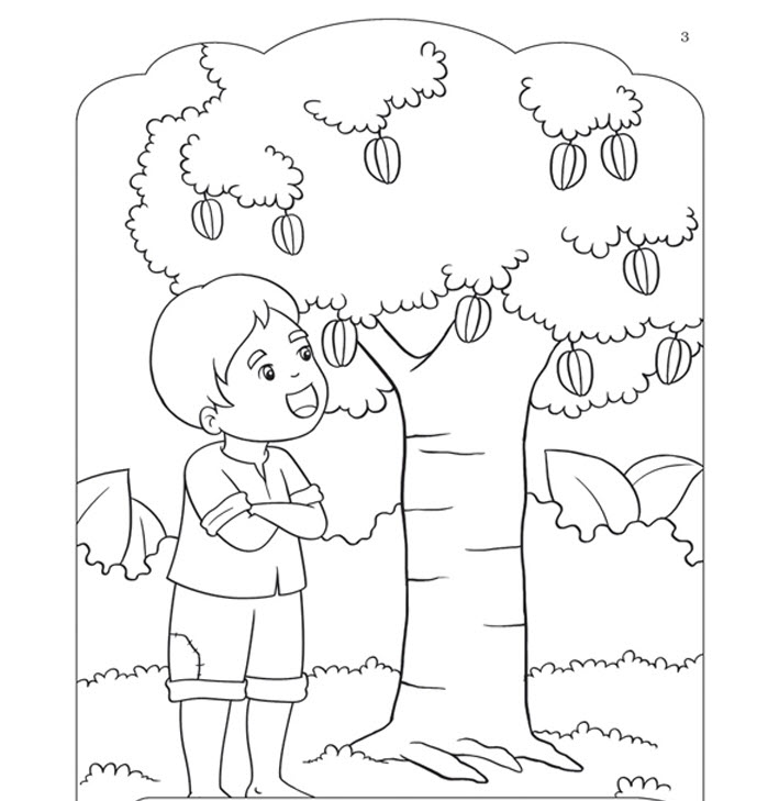 Tranh tô màu cho bé 5-6 tuổi