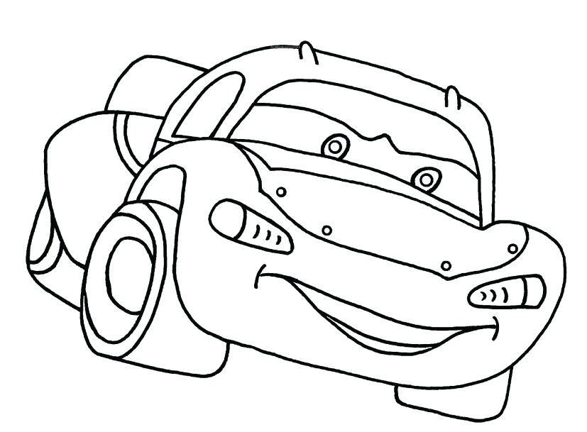 Tranh tô màu phương tiện giao thông cho bé 5 tuổi
