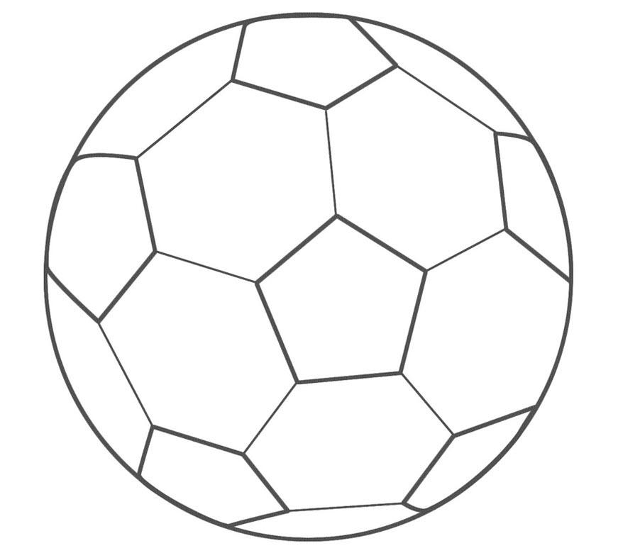 Tranh tô màu quả bóng cho bé 3 tuổi