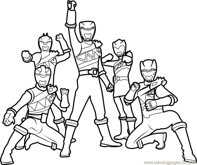 Tranh tô màu siêu nhân GAO