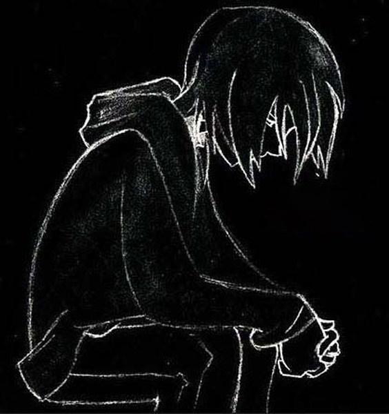 Ảnh đại diện đen trắng buồn