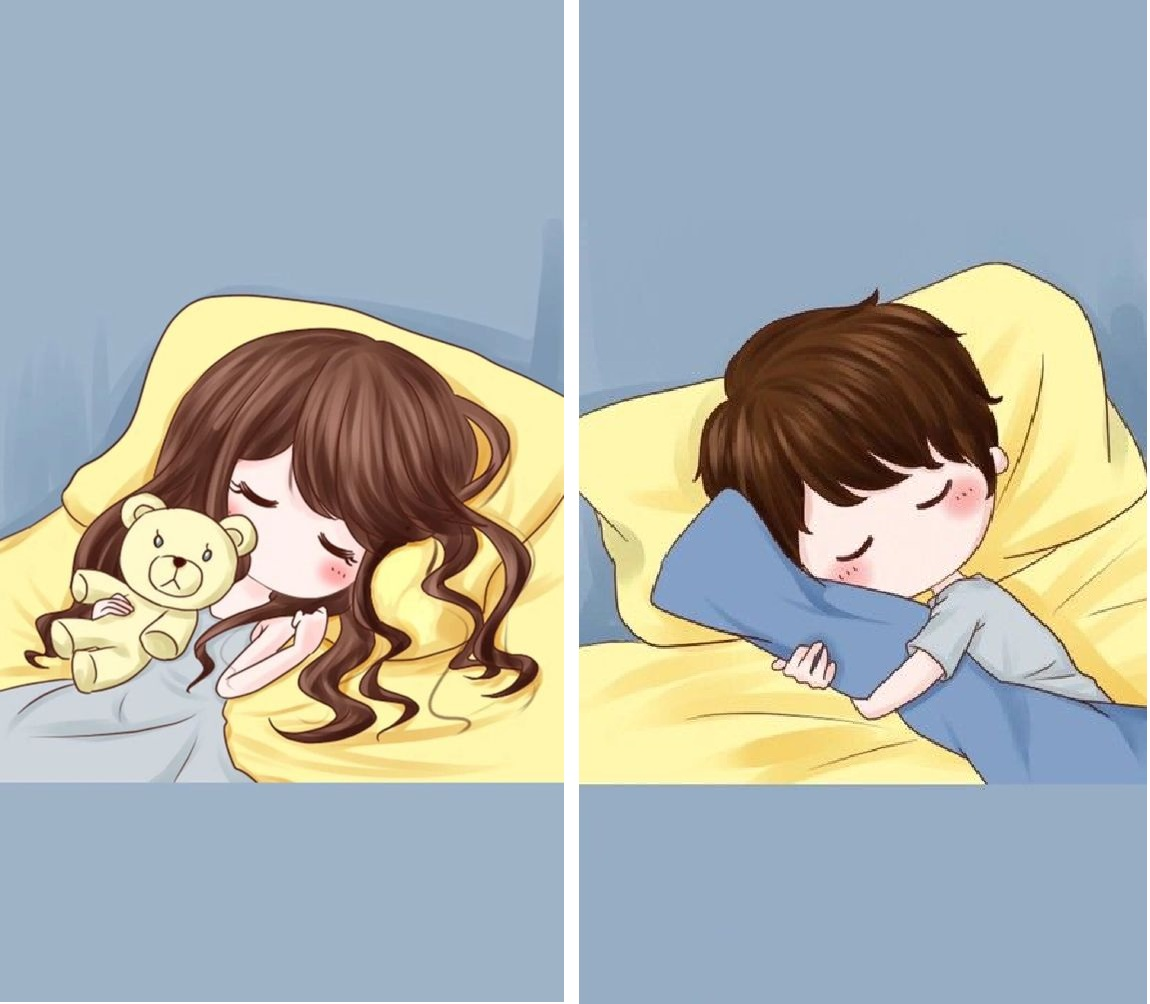 Hình ảnh chúc ngủ ngon về tình yêu