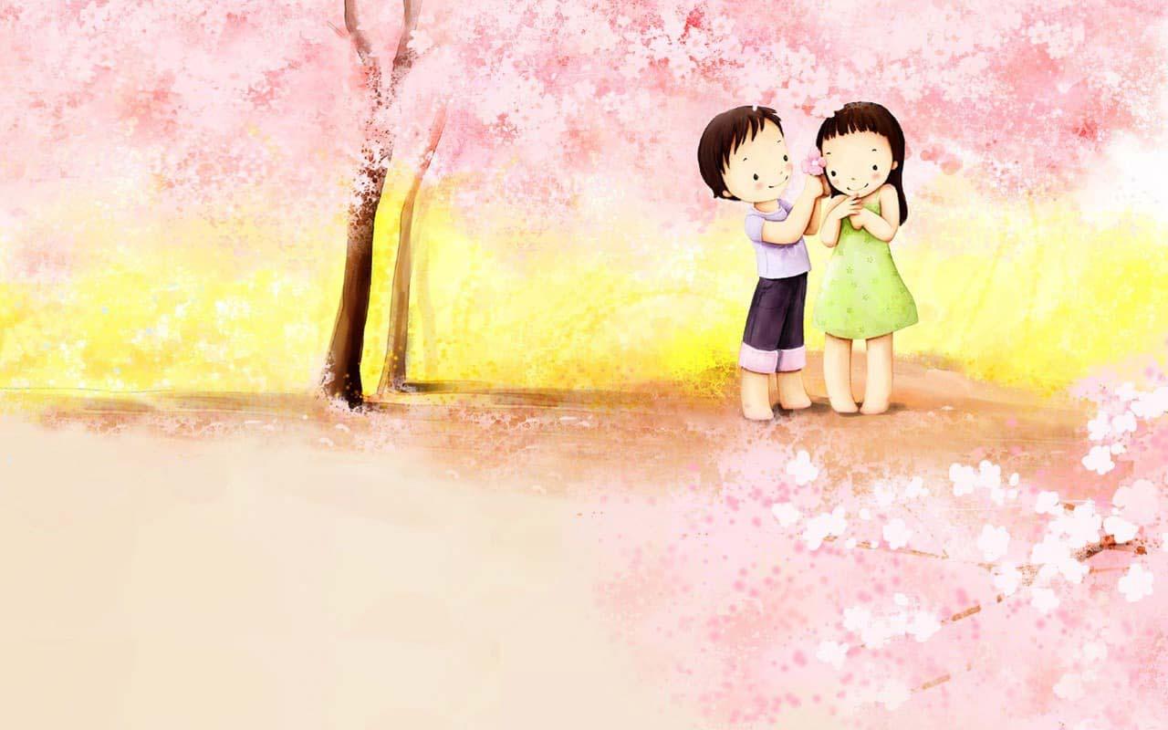 Hình ảnh tình yêu cute