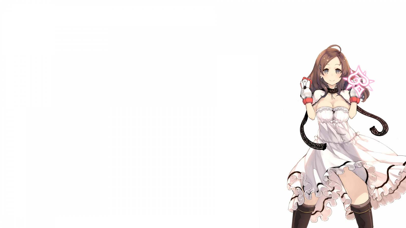 Hình nền trắng anime