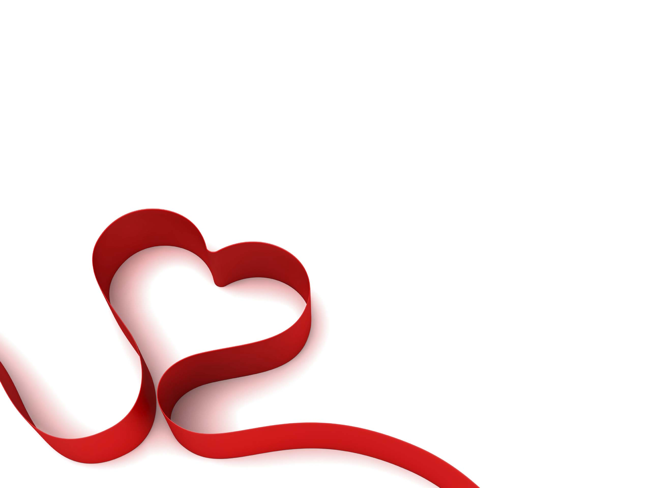 Hình nền trắng trái tim