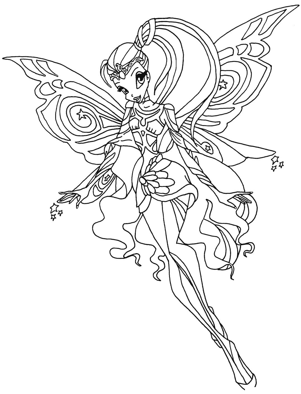 Hình tập tô công chúa phép thuật Winx