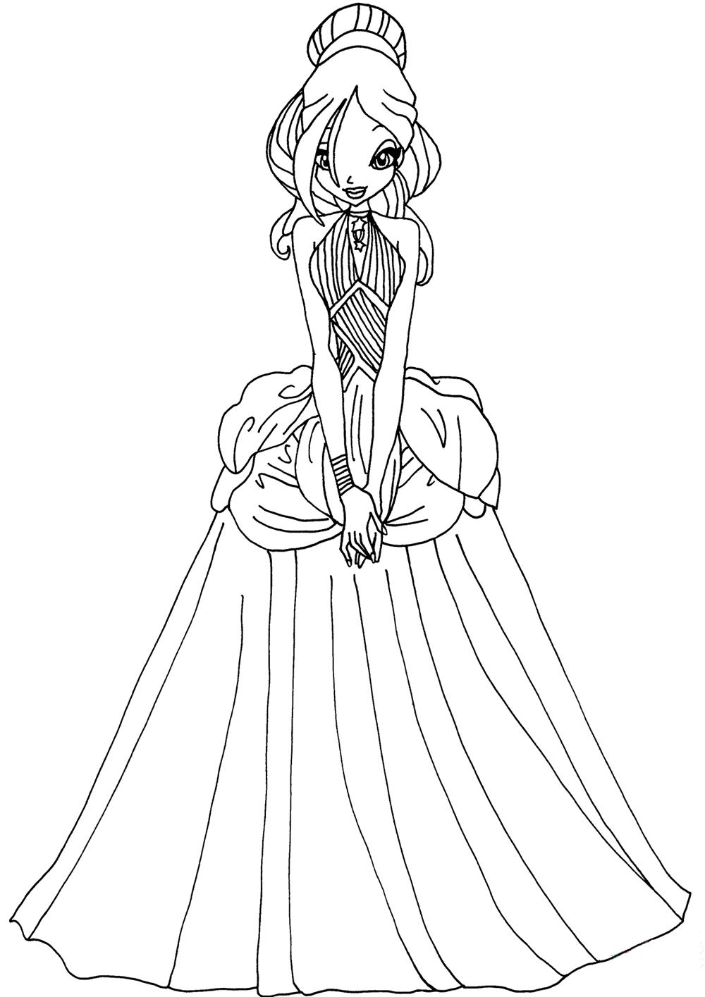 Hình tập tô công chúa