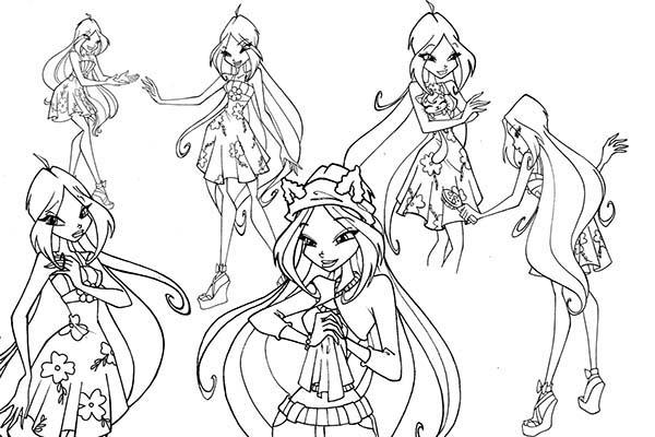 Hình tập tô màu công chúa
