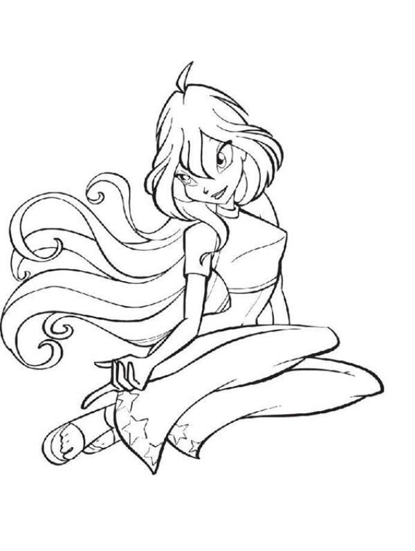 Hình tô màu cho bé  chủ đề công chúa