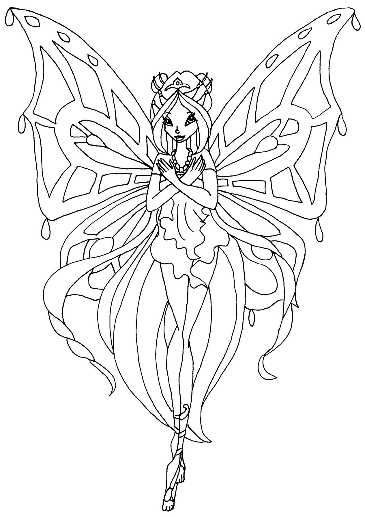 Hình tô màu công chúa (2)