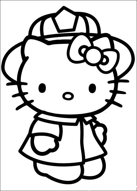 Mèo Kitty đội mũ