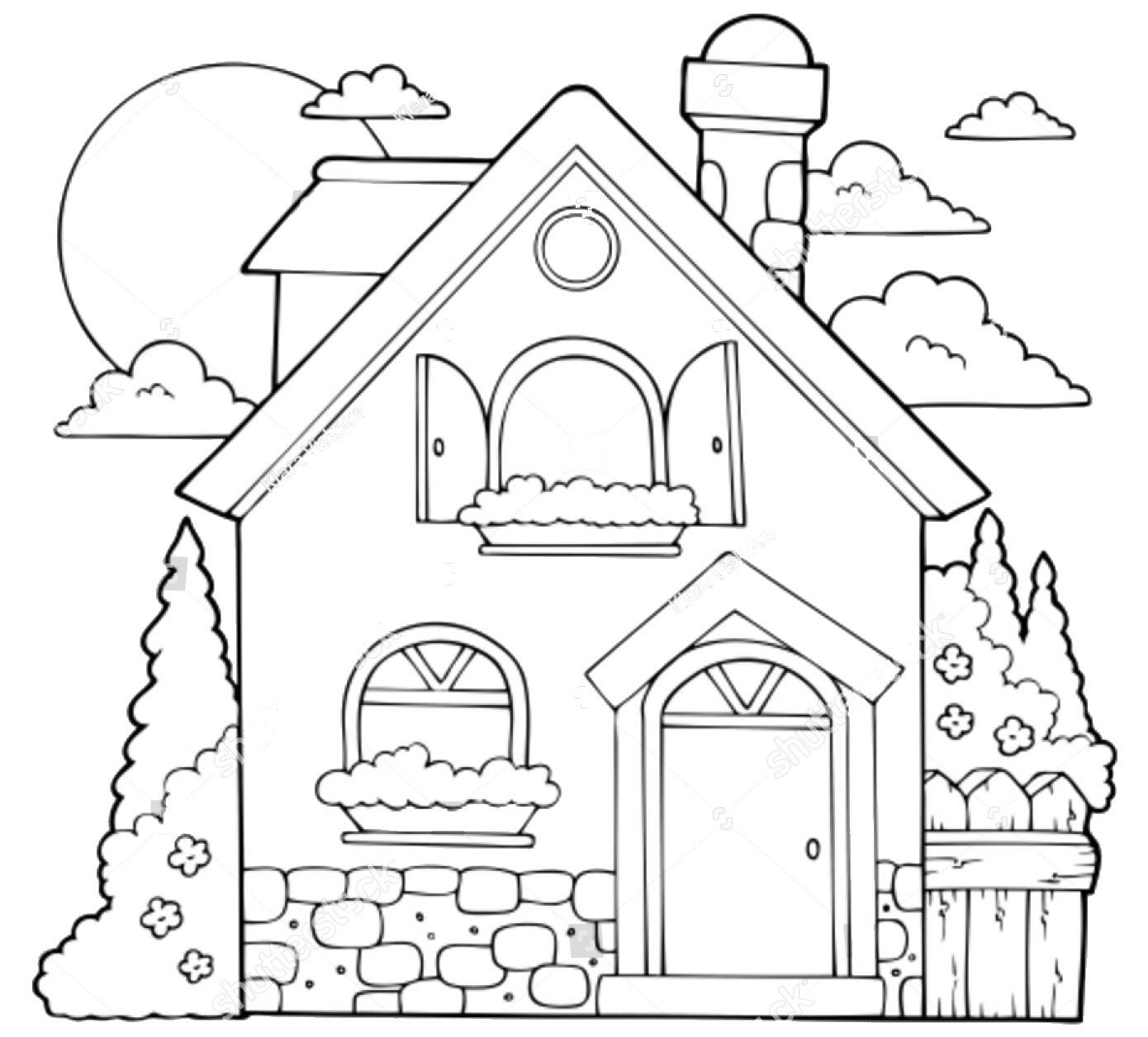 Ngôi nhà cho bé tập tô