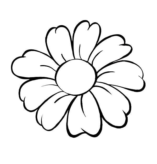 Tập tô màu chủ đề hoa
