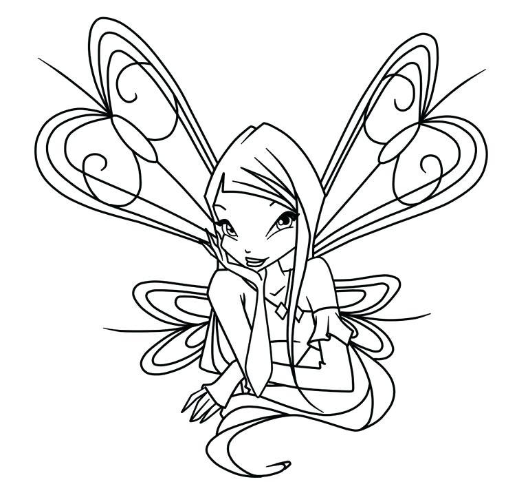 Tập tô màu công chúa phép thuật Winx cho bé