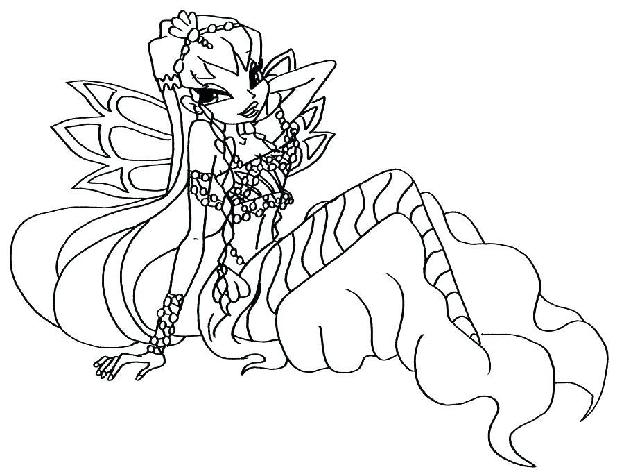 Tập tô màu công chúa phép thuật Winx
