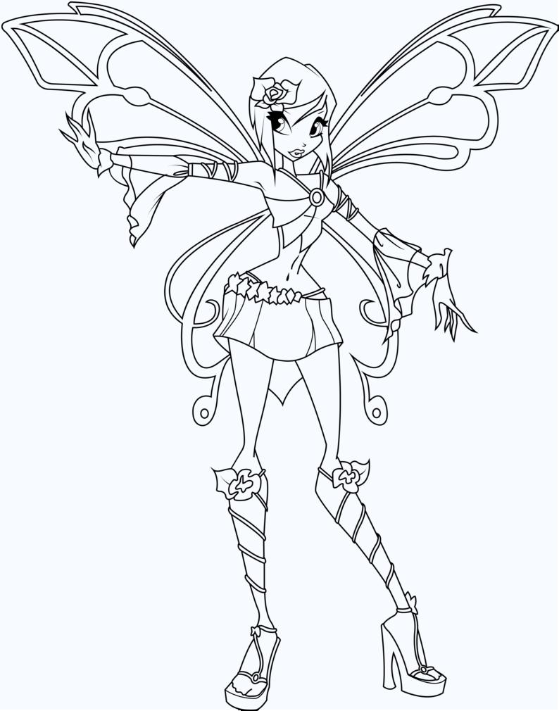 Tô màu công chúa phép thuật