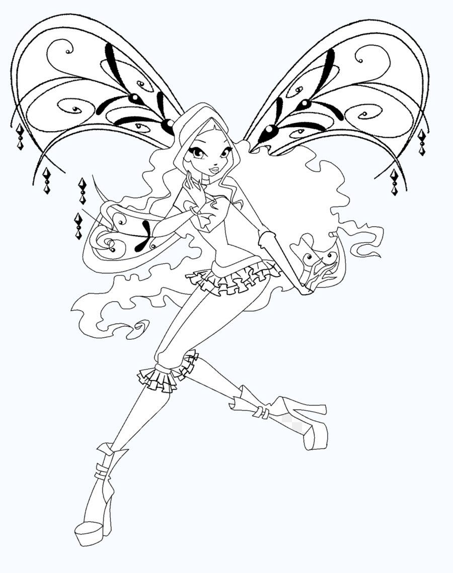 Tô màu công chúa Winx
