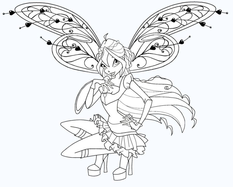 Tô màu hình công chúa
