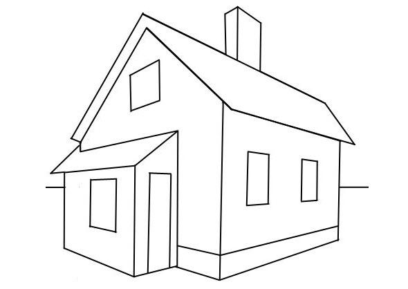 Tô màu về ngôi nhà