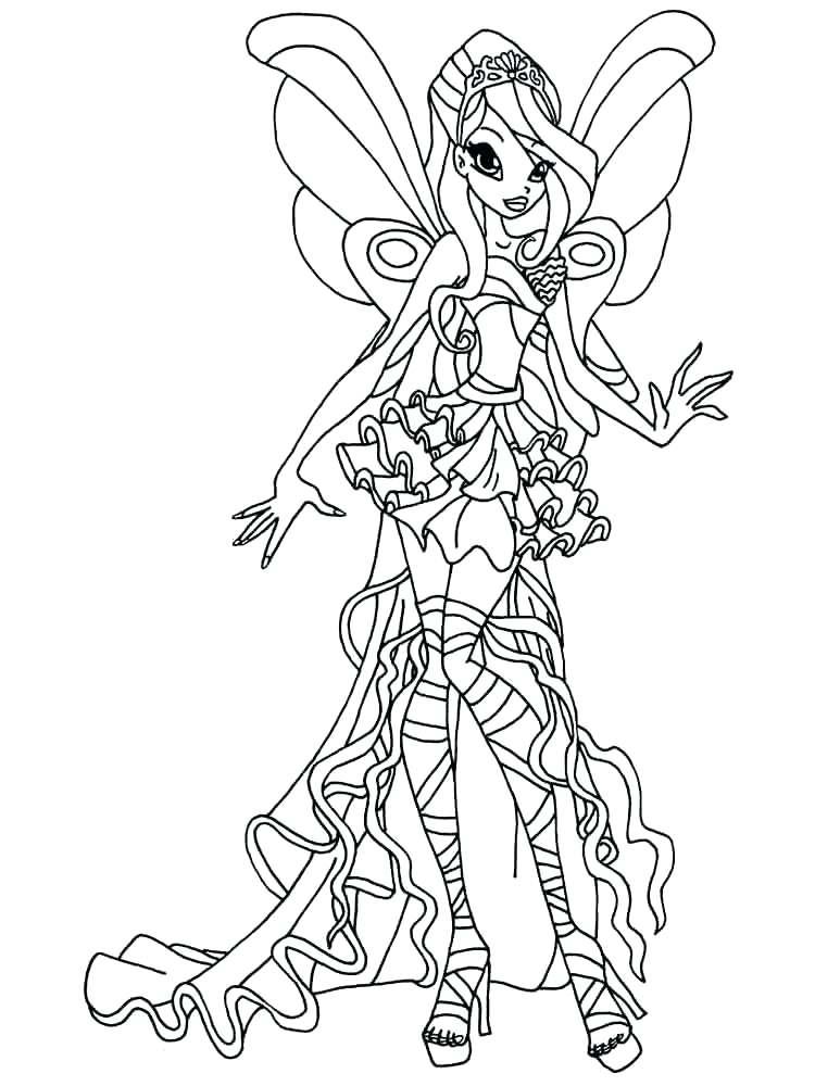 Tranh cho bé tập tô màu công chúa phép thuật