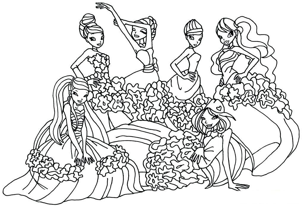 Tranh tập tô màu công chúa phép thuật