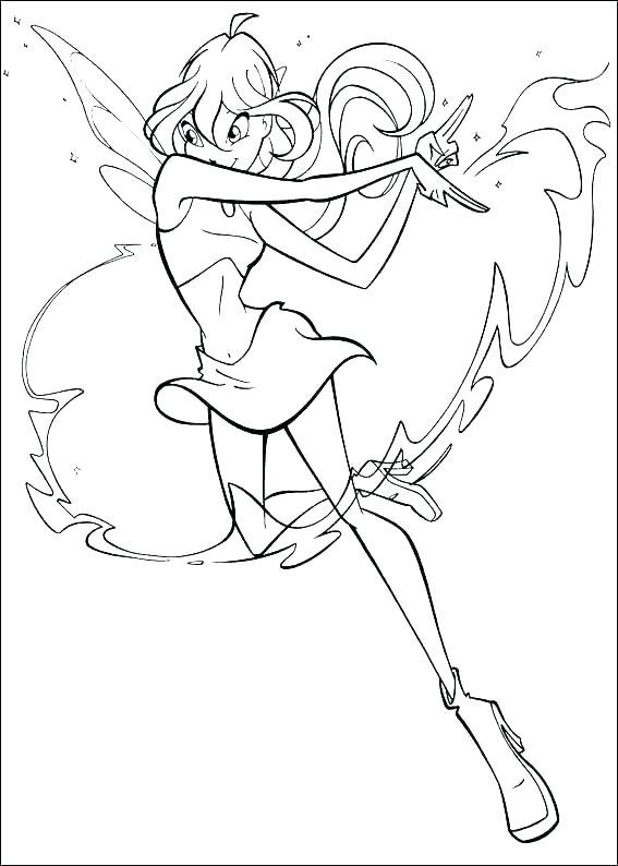 Tranh tô màu cho bé về công chúa phép thuật