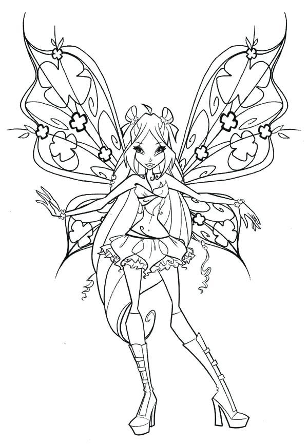 Tranh tô màu công chúa phép thuật
