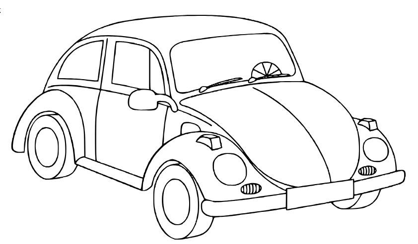 Hình ảnh ô tô tô màu