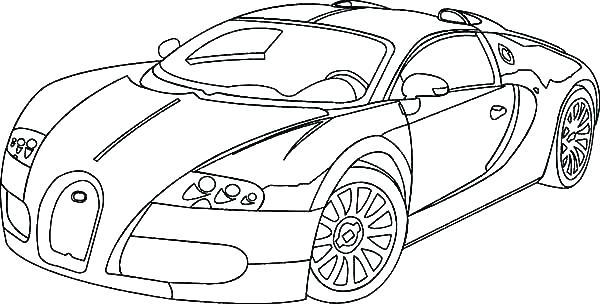 Hình ảnh tô màu ô tô