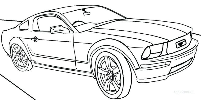 Hình tập tô màu ô tô
