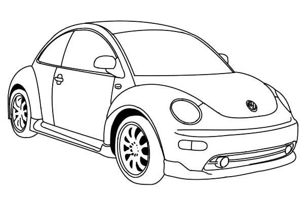 Hình tô màu xe ô tô